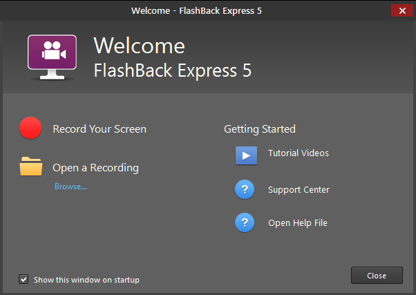 blueberry software flashback express