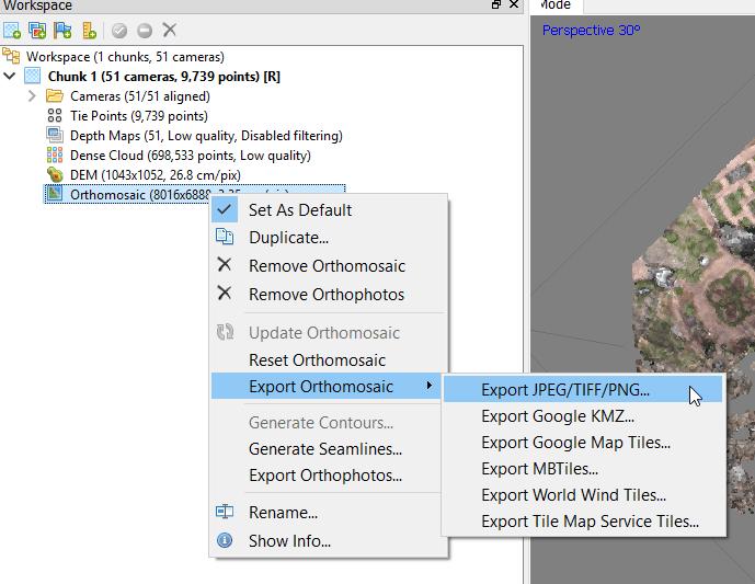 Lab10 – Agisoft Metashape Part 1 – GIS Note